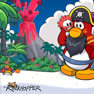 Rockhopper's Fruit Background
