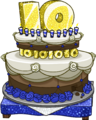 10th Anniversary Party Cake
