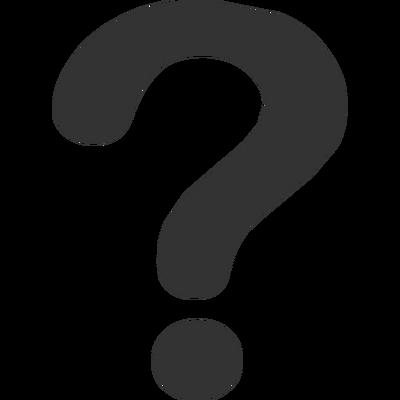 Question Mark Emoticon