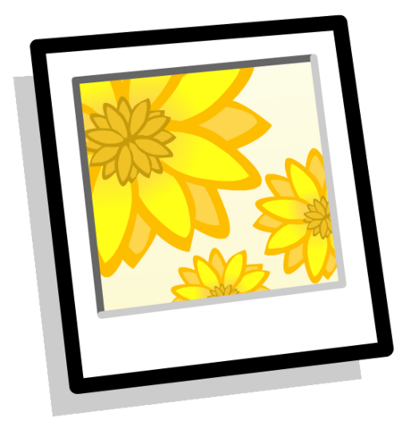 File:Sunflowers Background clothing icon ID 983.PNG