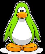 Lime Green Penguin Create