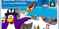 Welcome to Club Penguin postcard (ID 12)