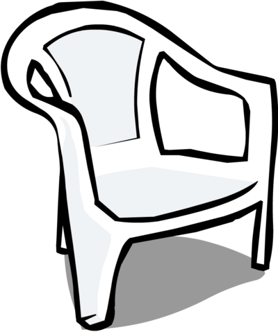 File:WhitePlasticChair2.png