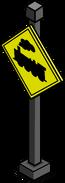 Train Crossing Sign sprite 001