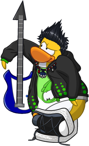File:Blue Electric Bass Penguin.png