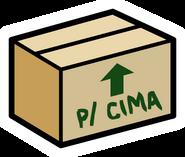 Cardboard Box pin icon pt