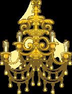 Gold Chandelier sprite 003