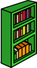 Green Bookcase sprite 010