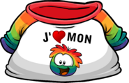 I Heart My Rainbow Puffle T-Shirt icon fr