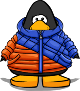 Puffy Parka on a Player Card