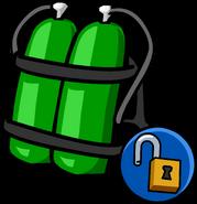 Scuba Tank unlockable icon