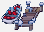 Holiday Party Map Icon Dock