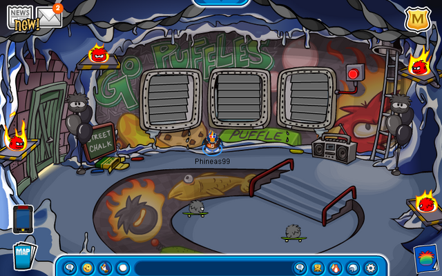 File:Cave (Button touched) (Puffle Party 2013).png