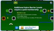 Astrobarriermembership popup