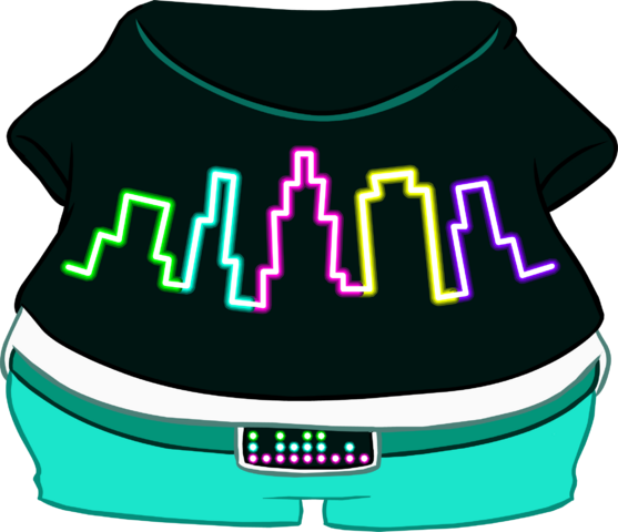 File:City Lights T-Shirt.png