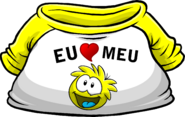 I Heart My Yellow Puffle T-Shirt icon pt