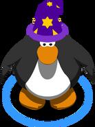 Purple Wizard Hat ingame