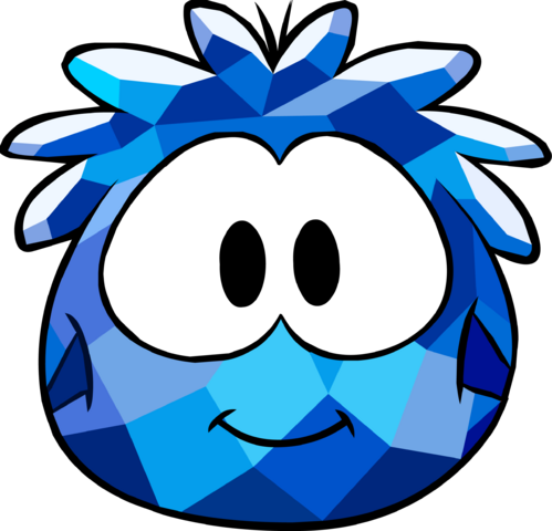 File:Blue Crystal Puffle Costume icon.png