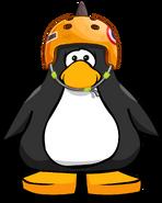 Orange Skate Spike Helmet PC