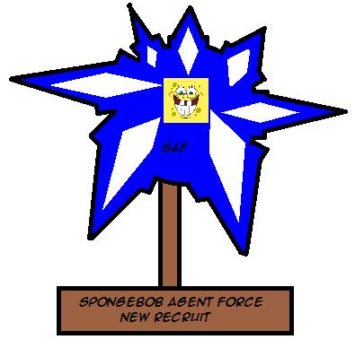 File:SpongebobAgentNewRecruitAward.png