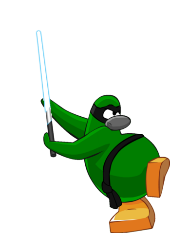 File:Green Ninja lightsaber.png