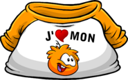 I Heart My Orange Puffle T-Shirt icon fr