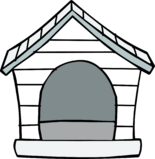 White Puffle House