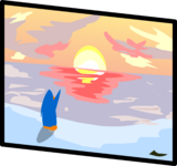 Sunset Painting sprite 006