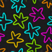 Fabric Neon Stars icon