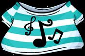 Pop-n-Lock Music Shirt clothing icon ID 4606
