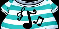 Pop-n-Lock Music Shirt