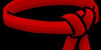 Red Ninja Belt