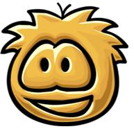 File:Golden Puffle Statue.JPG