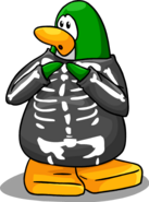 GreenPenguinSkeletonCostumeItemPose