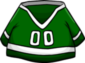Green Hockey Jersey icon
