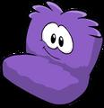 Fuzzy Purple Couch sprite 013