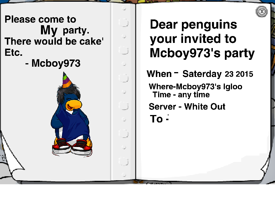 Club penguin rencontrer dp