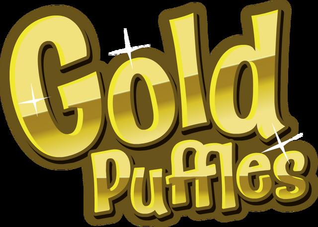 File:Gold Puffles Logo.png