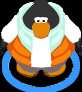 Orange Puffer Vest In-Game
