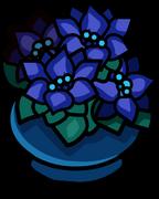 Potted Poinsettia sprite 004
