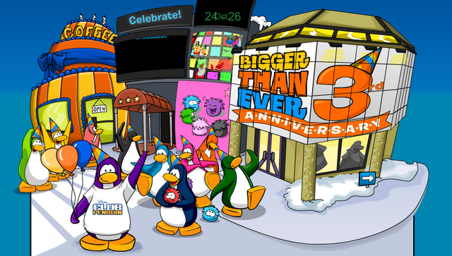 File:3rd Year Anniversary Party - Club Penguin Celebrate.PNG