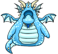 Blue Dragon Costume clothing icon ID 4082