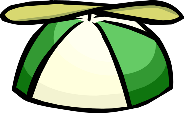 File:Green Propeller Cap clothing icon ID 1075.png