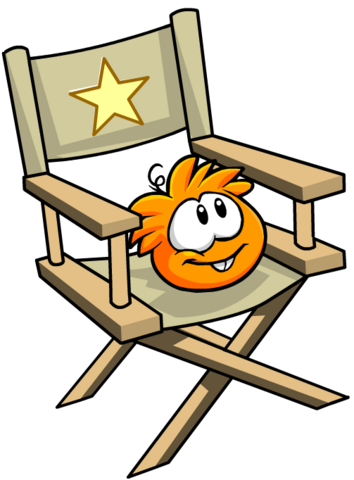 File:Orange PuffleChair.png