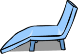 Blue Deck Chair sprite 002