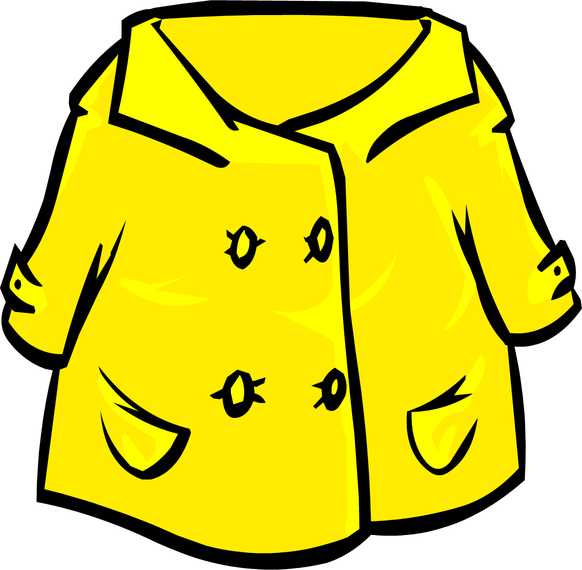 free clip art yellow jacket - photo #29