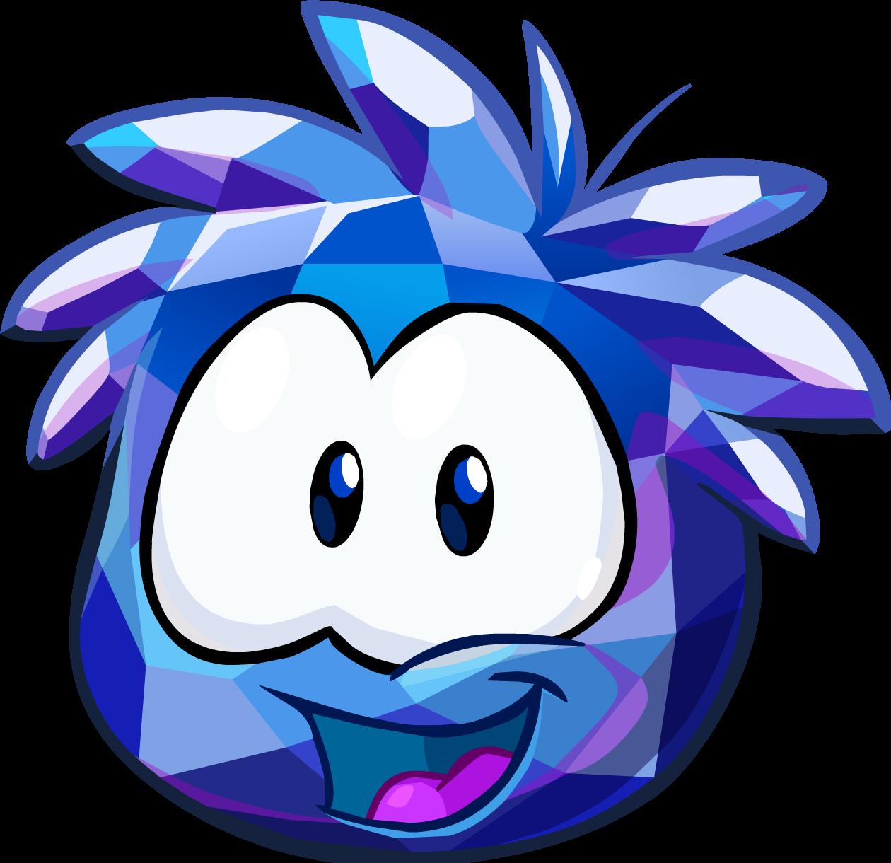 blue crystal puffle club penguin wiki fandom powered by wikia