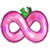 Pink berry icon