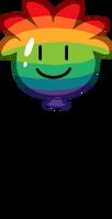 Rainbow Puffle Balloon icon