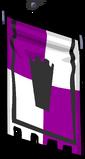 Purple Banner sprite 008